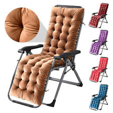 Rocking Chair Cushion Thicken Lounge Chair Bench Recliner Cushion Outdoor Indoor