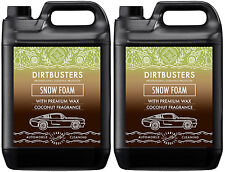 Ph Neutral Coconut Snow Foam shampoo high gloss wax coconut fragrance 2 x 5L