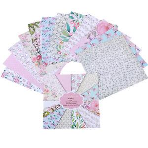 Patterns Scrapbook Paper Lovely Garden Cardstock Paper Pad Floral Spring Themed