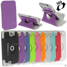 360° Rotatable Case For Samsung Galaxy Note 2 II N7100 Leather Cover With Holder