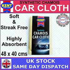 KENT CAR CARE PVA SYNTHETIC CHAMOIS SHAMMY SUPER ABSORBENT SOFT LASTING