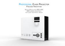 UC40+ Mini 1080 HD 800x480 Resolution LED Projector Home Theatre VGA USB SD HDMI
