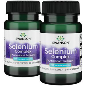 Swanson Selenium Complex 200 Mcg 180 Capsules.