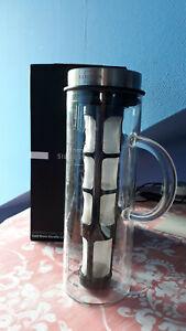Silberthal Kaffeebereiter Glaskaraffee Kaffee Cold Brew 1,3 L