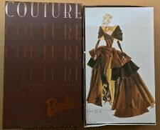 "1996 Barbie Doll ""PORTRAIT IN TAFFETA"" Mattel Couture Limited Edition NRFB"