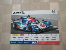 24 heures du Mans   2019  CARTE Ligier Panis Barthez n°23