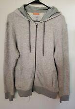 Jack Spade Warren Street gray Hoodie Jacket Full Zip Men Size M Pockets