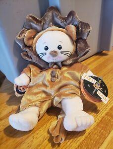 First And Main Plush Lion And Lambs Halloween Jack O Lantern Stuffed Animal