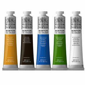 Winsor & Newton Winton Student Oil Paint 200ml - 55 Colours Available