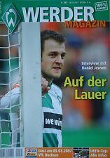Programm 2006/07 SV Werder Bremen - VfL Bochum