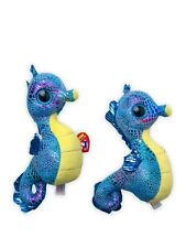 Neptune TY Seahorse Beanie Boos. Comes With Two, With Tags.