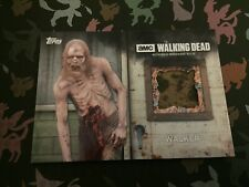 The Walking Dead Season 6 Walker Relic Card Topps (a)