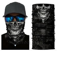 2017 Skull Skeleton Face Shield Sun Mask Balaclava Gaiter Headwear Fishing UV