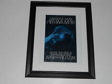 """Framed Miles Davis & Grateful Dead '70 Handbill Fillmore Mini-Poster, 14"""" by 17"""""""