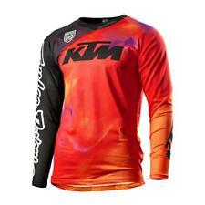KTM MAGLIA SE SLASH SHIRT BLACK TLD CROSS ENDURO  SIZE S  3PW200001102
