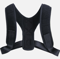 Adjustable Back Posture Corrector Support Adult Unisex Shoulder Belt Strap Brace