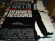 AFFICHE   BRUCE WILLIS / HILL / DERNIER RECOURS