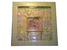 Grasslands Road Baby Picture Frame Porcelain Animal Picture Frame 7 1/4 x 7 1/4