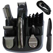 11 in1 Bartschneider Haarschneidemaschine Haarschneider Trimmer Rasierer Schwarz
