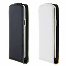 Fundas con tapa mate de piel sintética para teléfonos móviles y PDAs