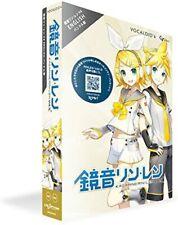 Kagamine Rin Len V4X English voice library VOCALOID 4 DVD-ROM  PC Softwear New