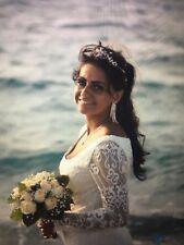 wedding dress ivory size 10