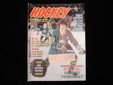 November 1973 Hockey Pictorial Magazine - Gilbert Perreault Sabres Cover