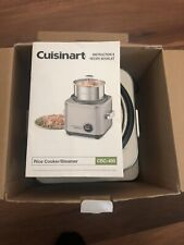 Cuisinart CRC-400 Rice Cooker Steamer 4-Cup Silver