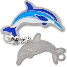 Dolphin Micro Travel Tag (Geocoin) For Geocaching