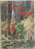 LO SCETTRO DI SANDOKAN 2 Volumi Emilio Salgari 1946 C.E.M.