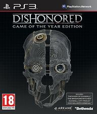 Dishonored -- Game of the Year Edition (Sony PlayStation 3) COMPLETE PAL EX C