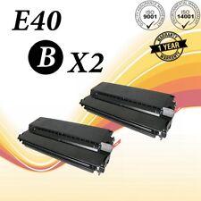2 E40 Toner Cartridge for Canon PC900 FC-100 PC800 PC400 FC-200 PC-230 PC300