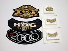 HARLEY DAVIDSON OWNERS GROUP..HOG..PATCHES & PINS..NEW..PRIMARY PLUS.1999&2000