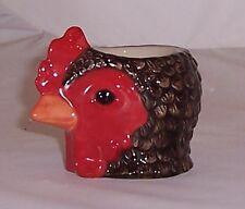 QUAIL Maran Chicken Faced Egg Cup