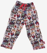 Marvel Comics Spider-Man Boy's Pajama Sweat Pants Age 3-4 98-104 cm NEW