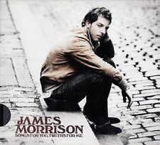 JAMES MORRISON : SONGS FOR YOU, TRUTHS FOR ME / CD (PURE EDITION)