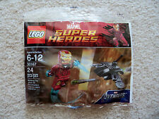 LEGO Marvel Superheroes - Iron Man vs Fighting Drone 30167 - New & Sealed - Rare