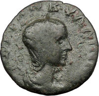 TRANQUILLINA Gordian III Wife244AD Caesarea Cappadocia Ancient Roman Coin i31783