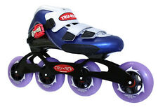 Speed Skates by Trurev Complete Skate Package w/ 90mm skate wheels. Size 4