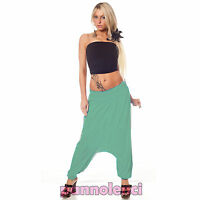Leggings pantalon fitness pantalon turc jersey femme sarouels harem sport CC-056