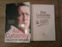 Valley of Dreams SIGNED Alan Curbishley Autobiography Book Charlton West Ham