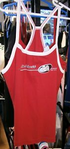 CHASE #29 LADIES RACER BACK TANK TOP RED TEE SHIRT RED KEVIN HARVICK LARGE NWT