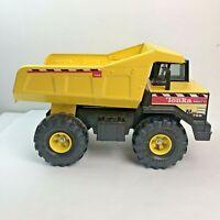 Vintage Yellow Metal (Steel)Toy Tonka Mighty 768 Dump Truck XMB-975 Tires