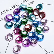 10Pcs Mixed Girls Plastic Rings Party Bag Fillers Childrens Jewelry Present Gift