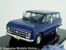 CHEVROLET GMC SUBURBAN MODEL CAR 1:43 SCALE 1987 VERANEIO IXO ATLAS AMERICAN K8