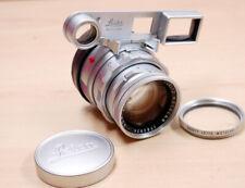 Leica Nah-Summicron-M 2,0/50 mm  Dual Range  bei Leica gereinigt f. 500€