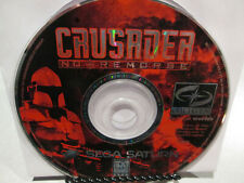 Crusader No Remorse Sega Saturn Disc Only US Version Fast Free Shipping!