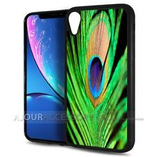 ( For iPhone XR ) Back Case Cover AJ10547 Peacock