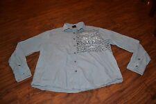 A16- MMA Elite Button Down Shirt Size Medium