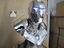 Life Size 1/1 Scale Iron Man MK2 Chrome Bust Recast